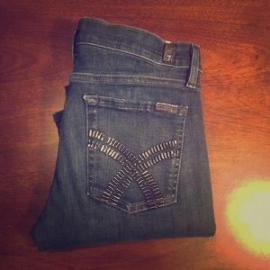 7 for all mankind jeans Gwenevere Skinny